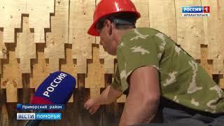 """В """"Малых Корелах"""" реконструируют амбары и Георгиевскую церковь"""