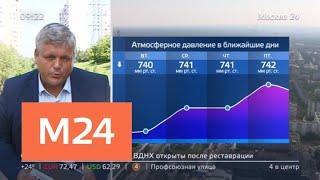 """""""Утро"""": по-летнему теплая погода сохранится в Москве - Москва 24"""