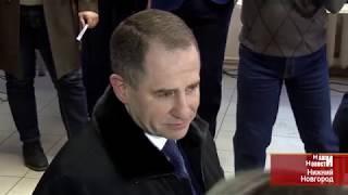 Михаил Бабич проголосовал в Нижнем Новгороде