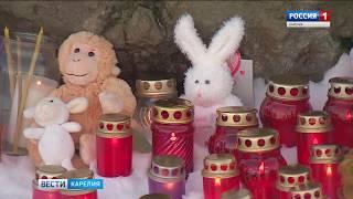 Акция памяти жертв трагедии в Кемерово прошла в Петрозаводске