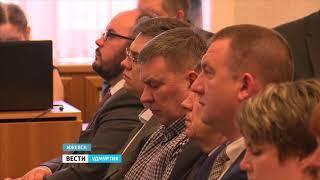 Глава Удмуртии Александр Бречалов провел традиционное аппаратное совещание