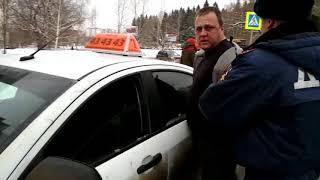 Задержание бухого буйного водятла в Ижевске