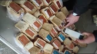 Уссурийская таможня задержала сигареты, спрятанные в хлебе