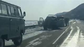 ДТП в Макаровском районе. Водитель внедорожника погиб