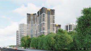 На севере Екатеринбурга началось строительство микрорайона «Изумрудный бор»