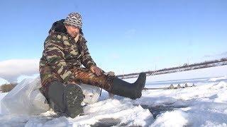Сотрудники МЧС предупреждают об опасности зимней рыбалки