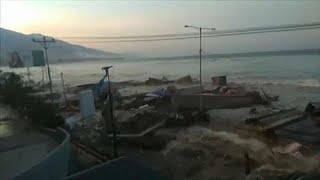 Под ударом цунами