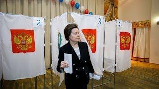 Одними из первых на избирательные участки Югры пришли руководители региона