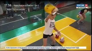 Иван Денисов, многократный чемпион России и мира по гиревому спорту