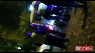 Задержание пьяного водителя после ДТП возле мечети