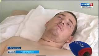 В Астраханской области участились случаи получения травм во время купания в водоемах