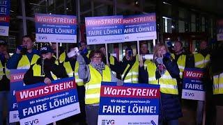 Германия: железнодорожники провели забастовку