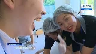 Дети из Кореи познают особенности русской культуры во Владивостоке