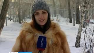 Красноярск снова во власти суровой зимы
