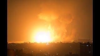 Израиль нанес удар по сектору Газа в ответ на запуск ракет из этого региона