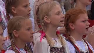 В честь Кирилла и Мефодия в центре Симферополя пел хор