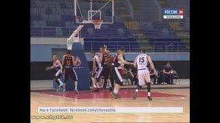 В повторной встрече баскетбольная команда «Чебоксарские ястребы» вновь уступила ярославскому «Буреве