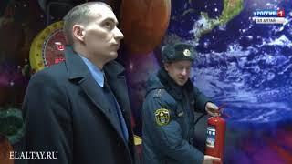 В РА проверяют торгово-развлекательные центры на предмет пожарной безопасности