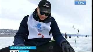 Открытый турнир по подлёдной рыбалке впервые прошёл на Байкале