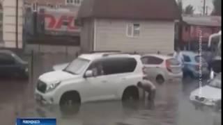 Ливень и град: Ростовскую область накрыла непогода