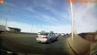 ДТП на мосту Александра Невского