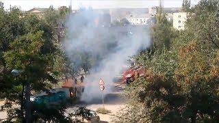 В Красноармейском районе произошел пожар