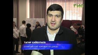 Чемпионы тоже голосуют. Посол ЧМ-2018 по футболу Тагир Хайбулаев принял участие в выборах Президента