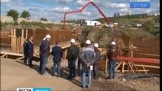 Реконструкция очистных сооружений продолжается в правобережном округе Иркутске