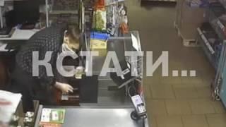 Грабитель неудачи попался на краже из магазина
