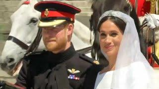 Меган Маркл отдаст свадебное платье британцам