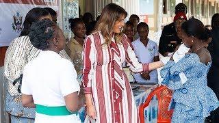 «Один из ее больших талантов — жить частной жизнью». Эллен Пинчук об африканском турне Мелании Трамп