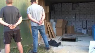 ФСБ обнаружила партию контрафактной водки