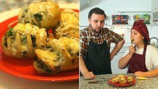 «Первое, второе и компот». Картофель-гармошка и суп «Снежок»
