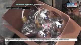 В Мордовии украли лампочки и комплектующие к ним на 1,5 миллиона рублей