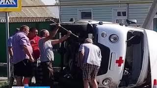 В Соль Илецке в ДТП попала машина скорой помощи
