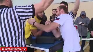 Открытый чемпионат республики по армспорту среди инвалидов по слуху прошел в Грозном
