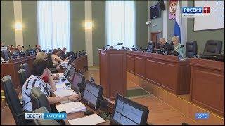 На сессии Законодательного собрания РК депутаты рассмотрели 38 вопросов