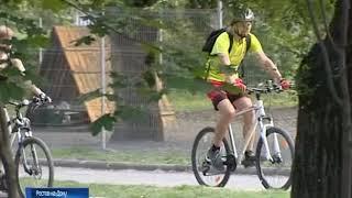 Ростовские чиновники приехали на работу на велосипедах