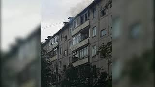 В Дзержинском районе Ярославля сгорела квартира