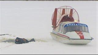 Югорским рыбакам показали, как вести себя в случае беды