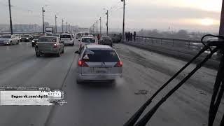 На мосту у Телецентра произошла авария с пострадавшими