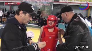 В Избербаше завершилось юношеское первенство Дагестана по ушу-саньда