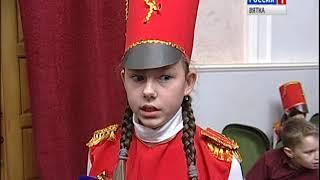 Кировские школьники приняли участие в параде исторических войск(ГТРК Вятка)