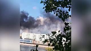 Пожар в бизнес-центре Красноярска мира, 19