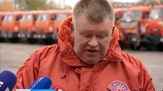 Впервые за всю историю Красноярска город купил 100 единиц уборочной техники