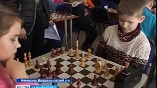 В Нивенском состоялся областной шахматный турнир
