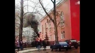 В Башкирии произошел пожар во дворце культуры «Сода»