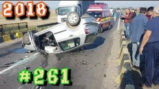 Дураки и дороги Подборка ДТП 2018 Сборник безумных водителей #261