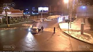 ДТП на ул. Гагарина и ул. Герцена 27.02.2018