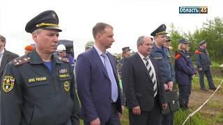 Спасателям Курганской области поставили оценку за ликвидацию условных ЧП